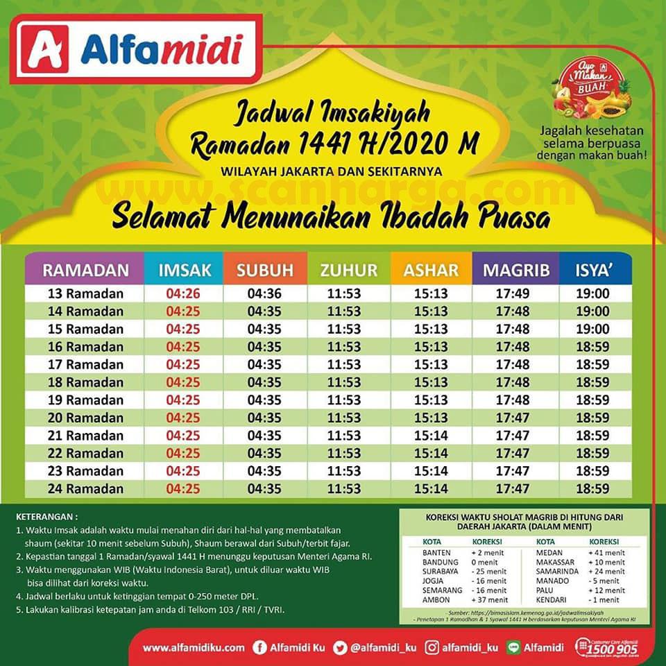 Jadwal Imsakiyah Dan Waktu Buka Puasa Ramadhan 1441 H ...