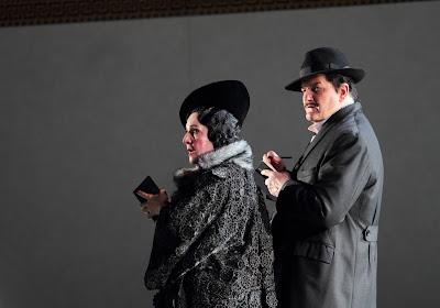 Helene Schneiderman, Wolfgang Ablinger-Sperhacke - Der Rosenkavalier - Royal Opera. © ROH. Photograph by Catherine Ashmore