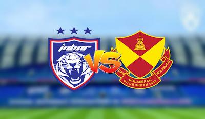 Live Streaming JDT vs Selangor Liga Super 19.9.2020