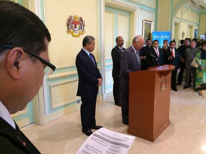 Senarai Terkini Kabinet Malaysia 2015