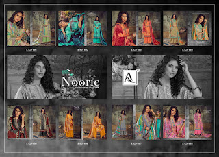 Alok Suits  Noorie Pashmina Special Winter