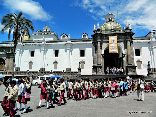 Catedral de Quito, Equador