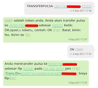 Transfer Pulsa IM3 Indosat