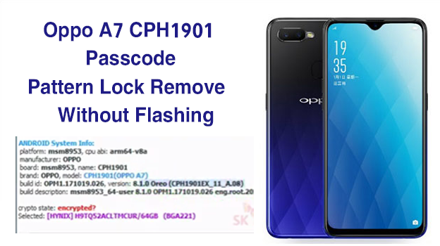 Madison : Oppo a7 pattern unlock ufi