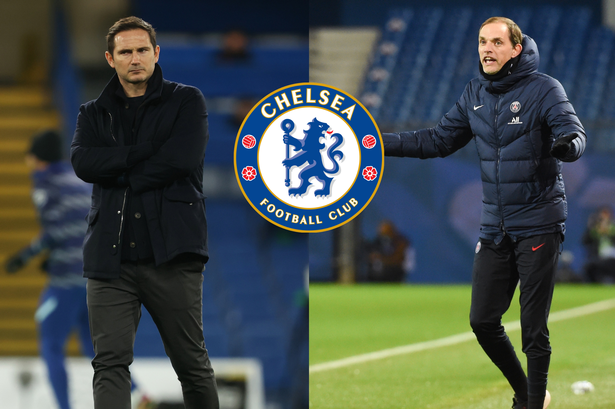 Frank Lampard 'to be sacked by Chelsea today with ex-PSG boss Thomas Tuchel to replace him'