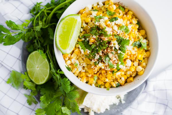 Corn as it was always meant to be!  This Street Corn is super creamy and seasoned to perfection!  |  mynameissnickerdoodle.com