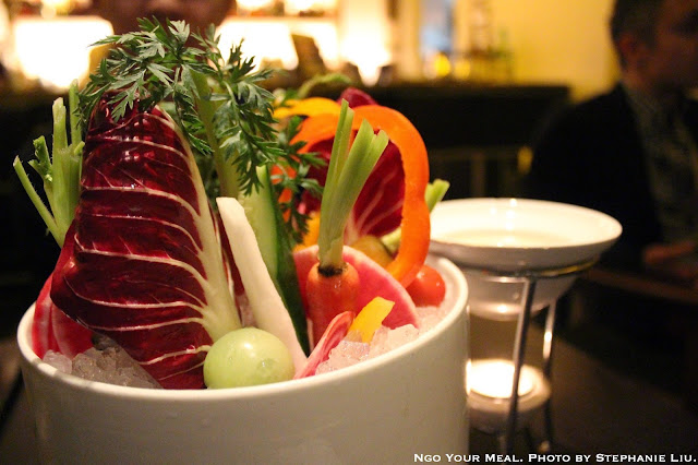 Vegetable Fondue at Bohemian Restaurant