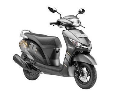 Yamaha Alpha Scooter front look