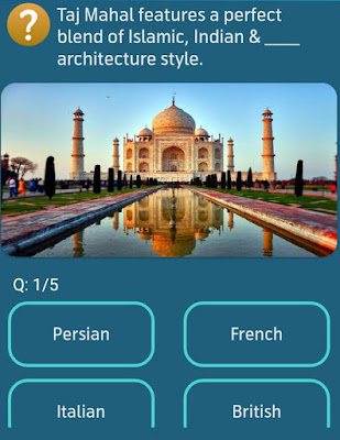 Taj Mahal features a perfect blend of islamic, Indian & ___ architecture style? MY TELENOR