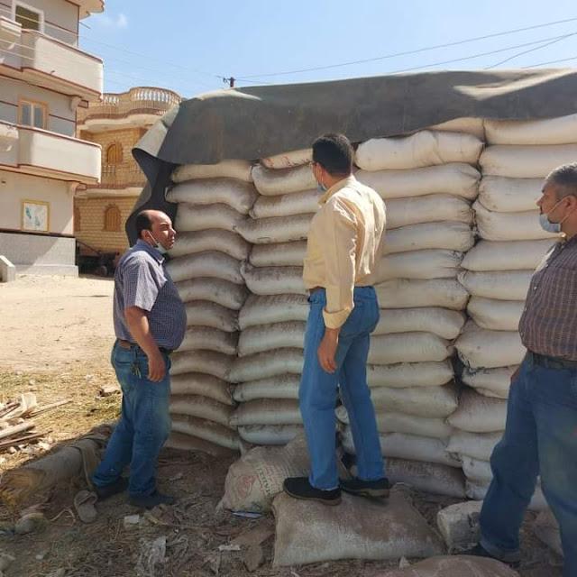 التموين ضبط ٢٥ طن ملح طعام فاسد بالبحيرة
