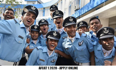 AFCAT 1 2020 - Apply Online