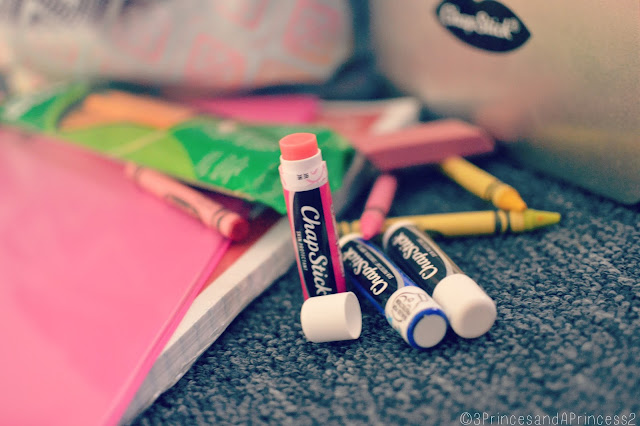 Back to school with ChapStick