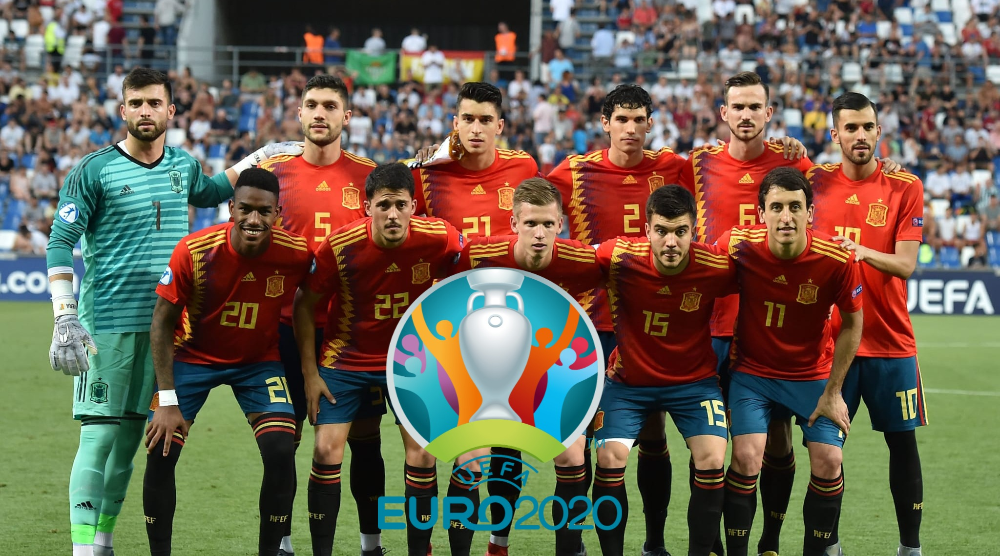 Senarai Rasmi Pemain Spain EURO 2020