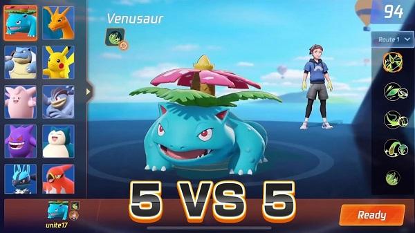 Pokemon Unite Local / Online PVP Multiplayer