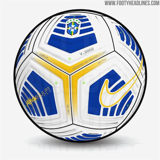Three Nike 2021 Aerowsculpt Footballs Leaked Brazil Chile And China Footy Headlines