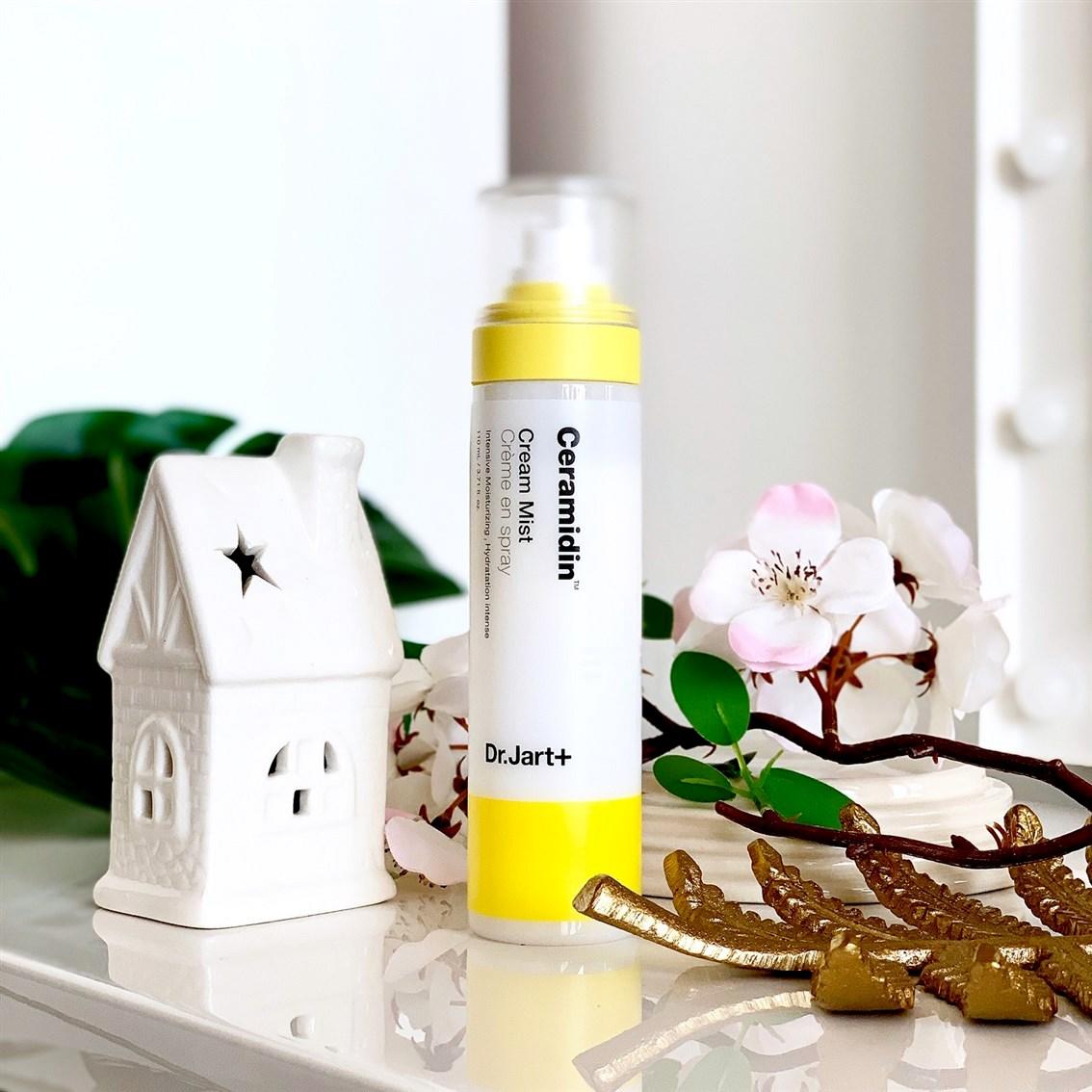 Dr. Jart+ Ceramidin Cream Mist krem w sprayu blog