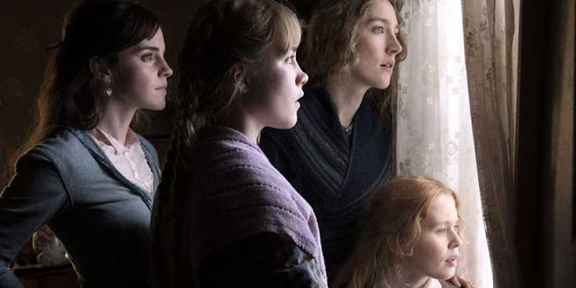 Emma Watson, Saoirse Ronan, Eliza Scanlen y Florence Pugh en 'Mujercitas'