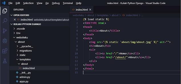 Static Files Django Framework Tutorial