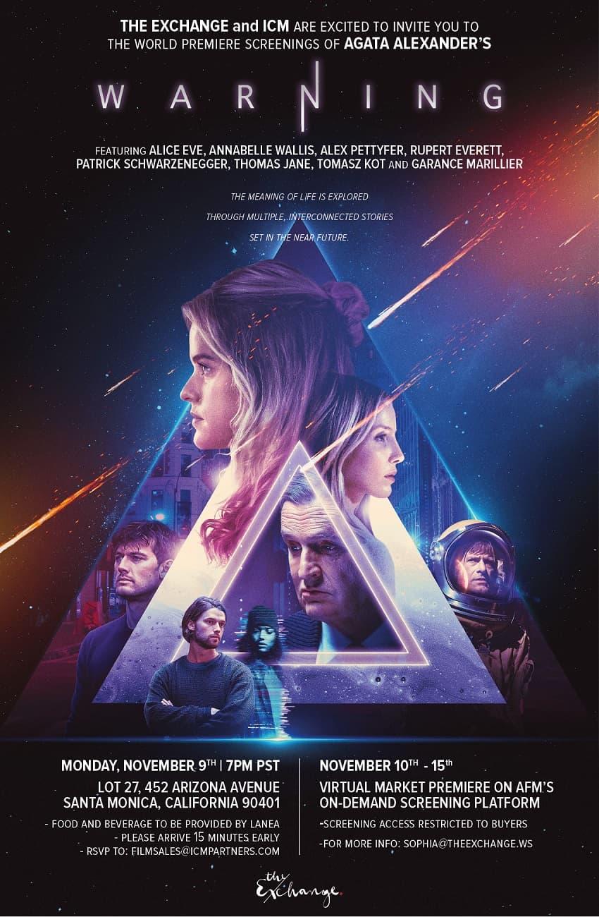 Lionsgate покажет фантастический триллер «Предупреждение» в октябре - Постер