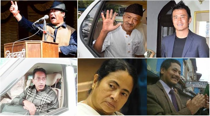 Political Players for Gorkhaland