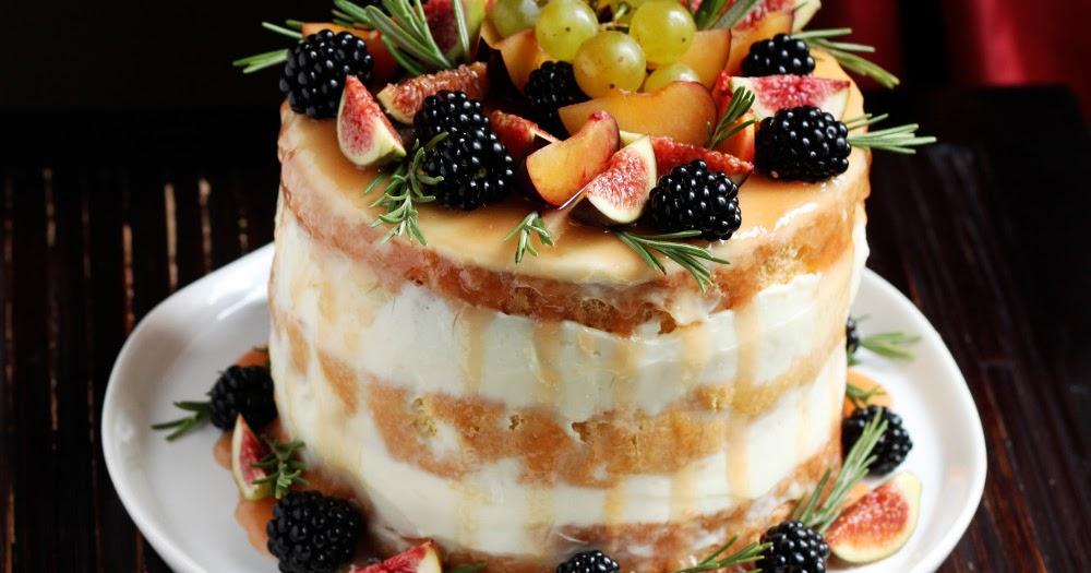 Naked cake Delizia d'autunno per il primo Master MTC