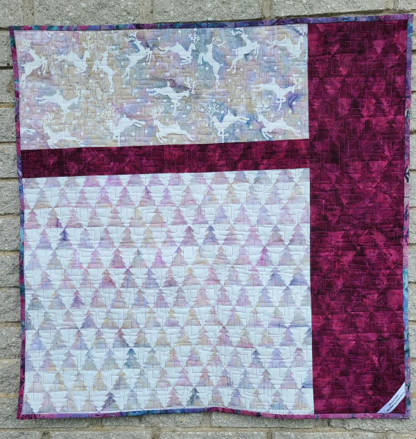 pieced quilt back | DevotedQuilter.com