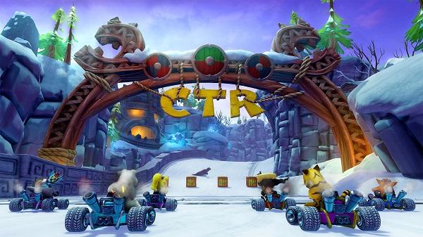 لعبة Crash Team Racing Nitro-Fueled تبهرنا من جديد عن طريق مجموعة صور رائعة ، لنشاهد من هنا..