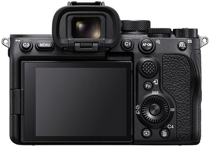 Sony A7S III, вид сзади