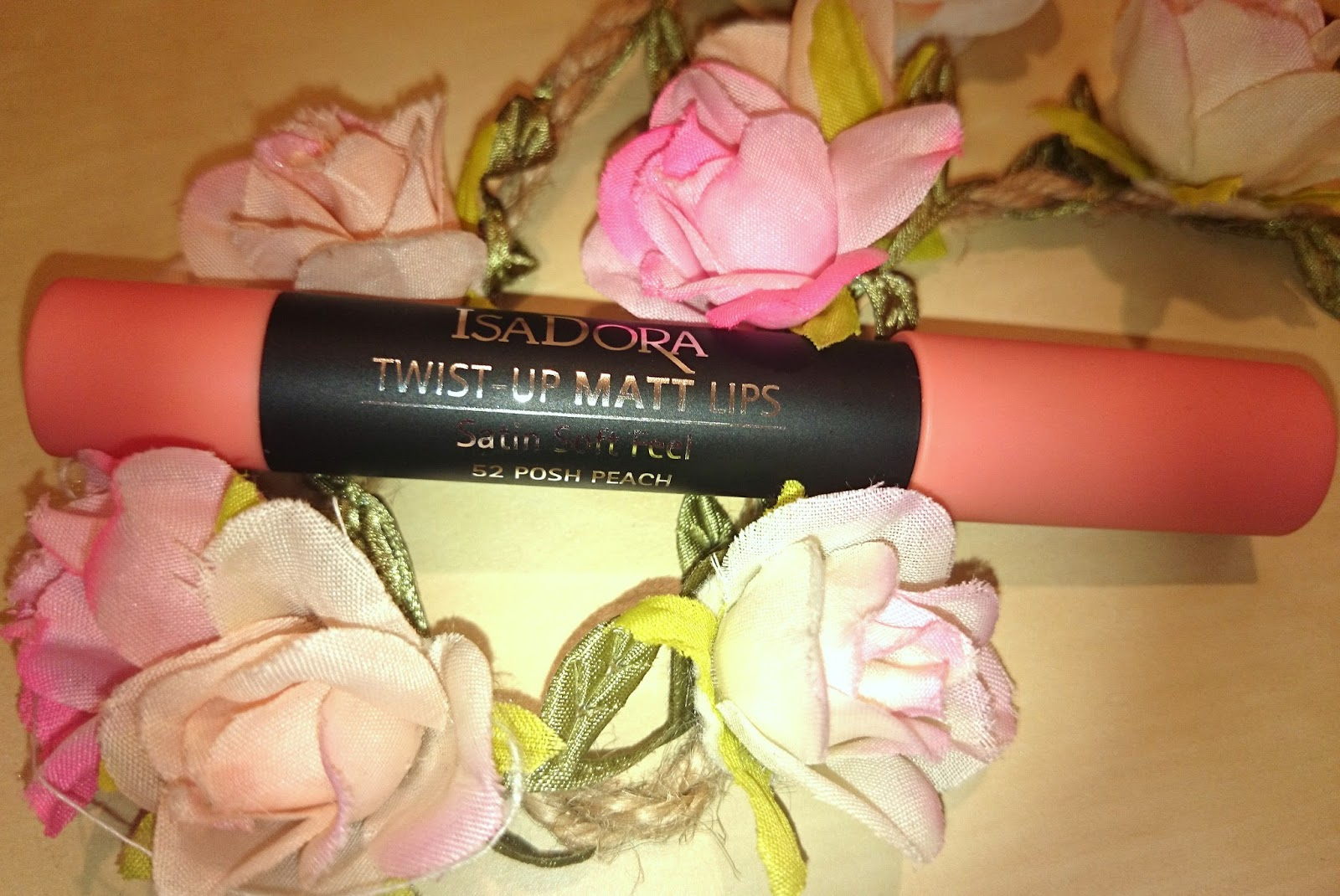 IsaDora Twist-Up Matt Lips 52 Posh Peach