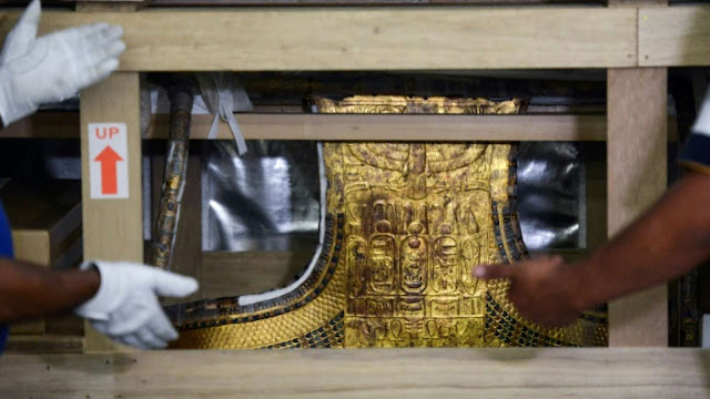 New Cairo museum hopes Tutankhamun's chariot will be a draw for tourists