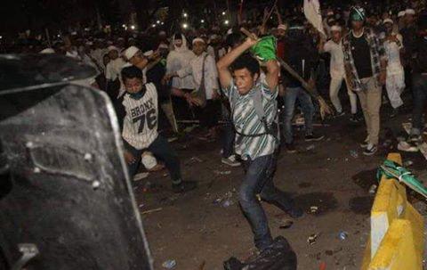 Terduga provokator kericuhan Aksi 4 November