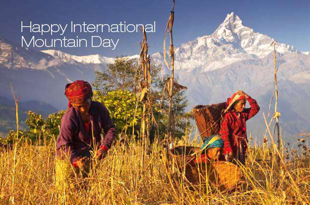 International Mountain Day Wishes Photos