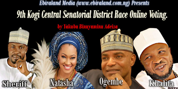 Vote Now: 9th Kogi Central Senatorial District Online Voting.