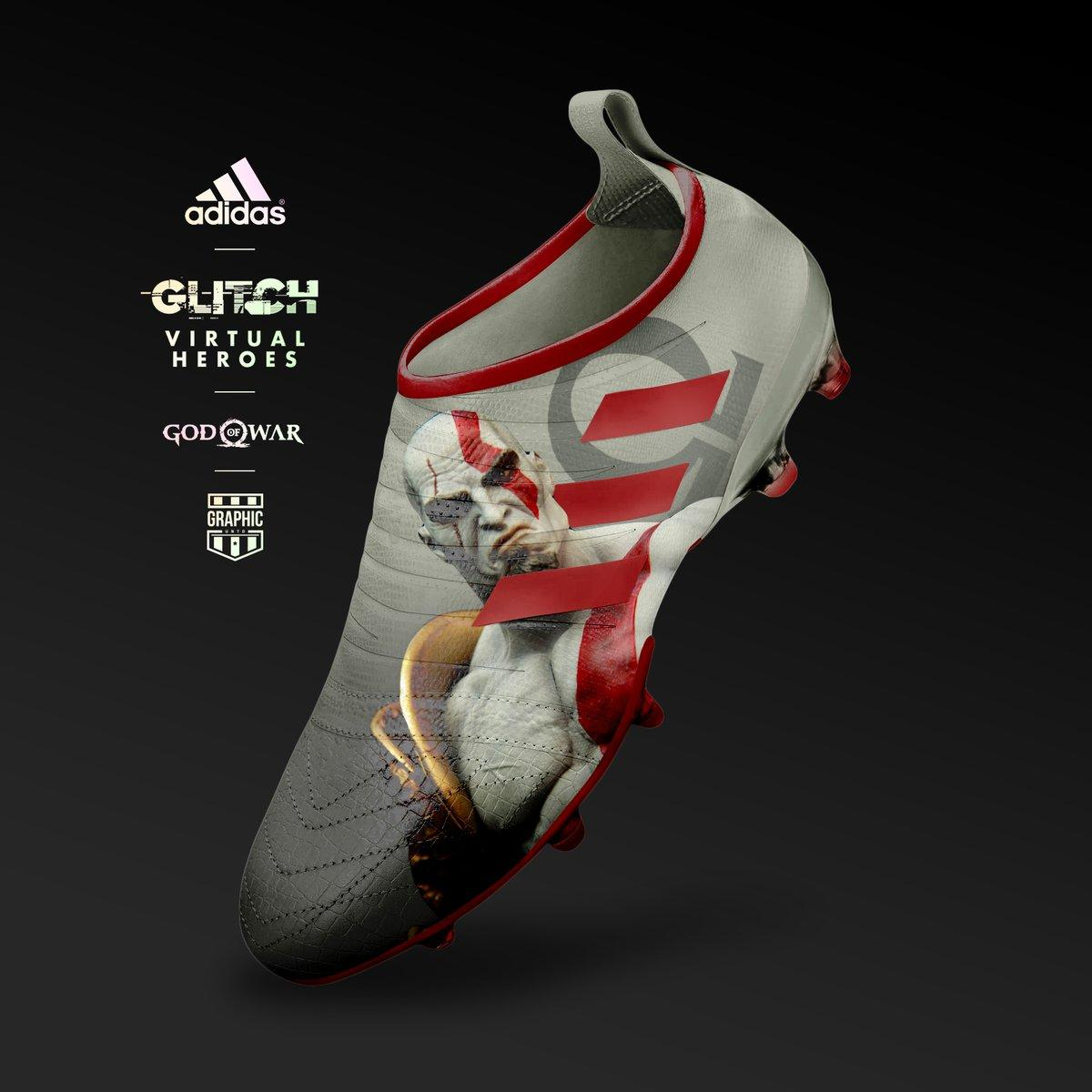Spectacular Adidas Glitch Virtual Heroes Concept Boots