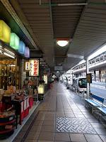 湯本の商店街