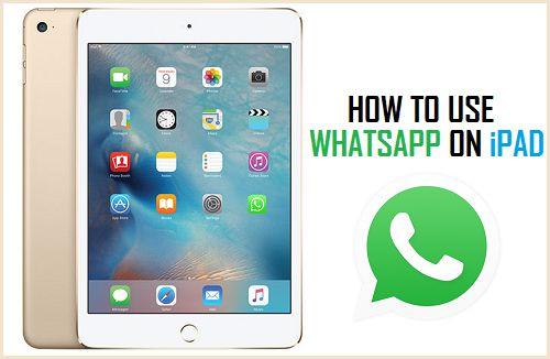 how to install whatsapp on ipad