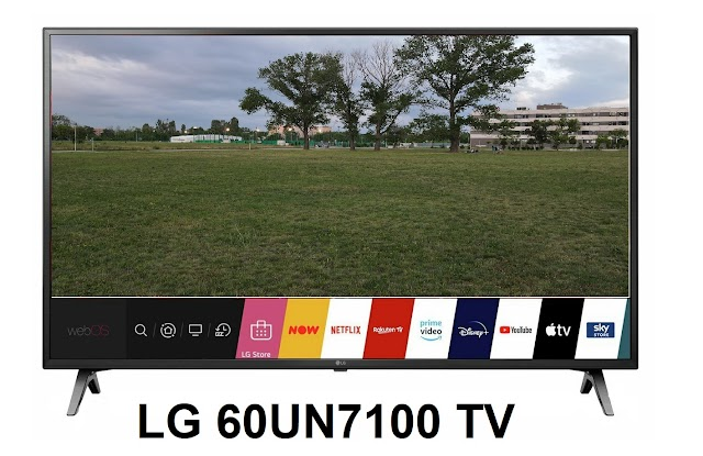 LG 60UN7100 big-screen 4k Smart TV
