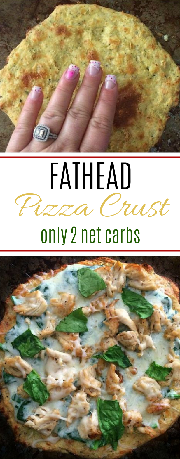 Fathead Pizza Dough #diet #lowcarb