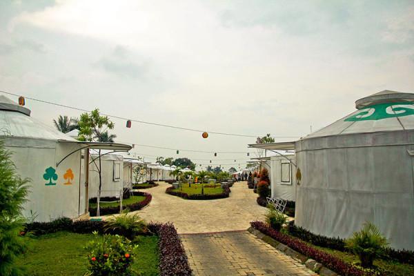 Konsep menginap unik di The Highland Park Resort Bogor