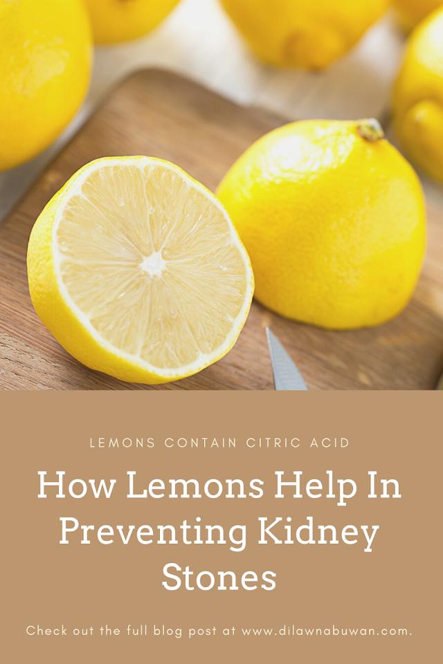 How Lemons Help In Preventing Kidney Stones