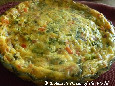 Quick Recipe for Ham and Broccoli Quiche that Makes its