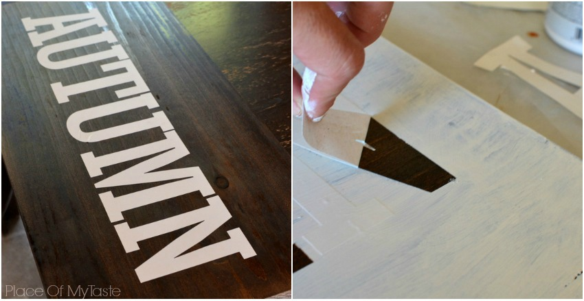 Diy Distressed Sign Tutorial Place Of My Taste