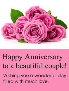 Parents anniversary wishes