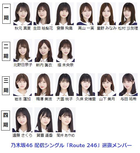 乃木坂 選抜 26