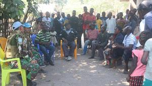 Satgas TNI Konga XXXIX-B RDB Monusco Evakuasi Korban Penghadangan Bandit Bersenjata di Republik Kongo