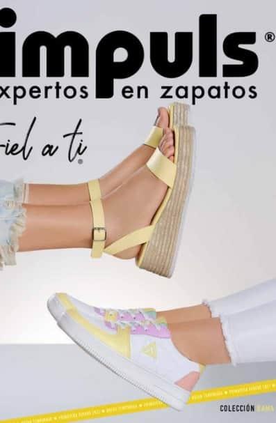 Zapatos impuls 2021 calzados para damas PV