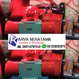 Jual Lampu Siren 2 Corong SHD2LR-WS 220V di Kalimantan