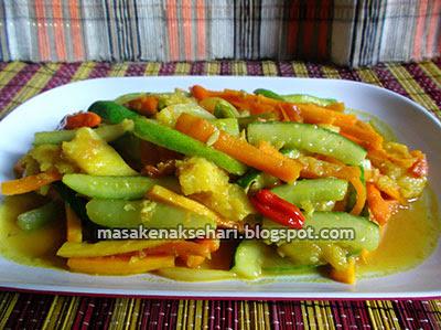 Resep Sayur Acar Kuning