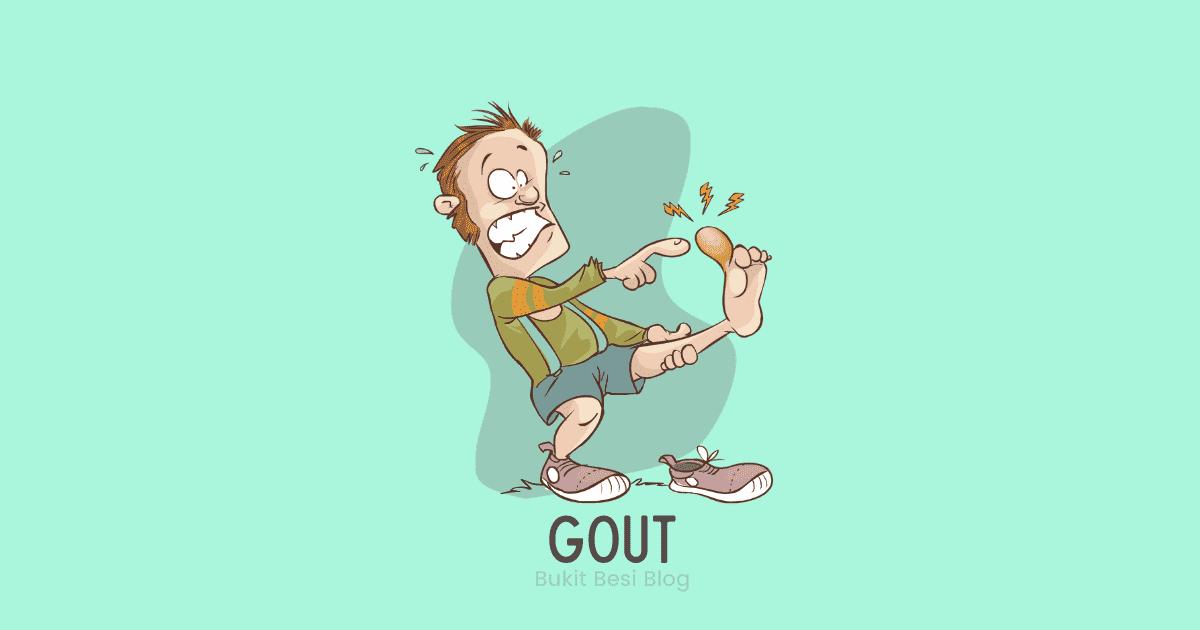 petua hilangkan gout dengan cepat dan berkesan