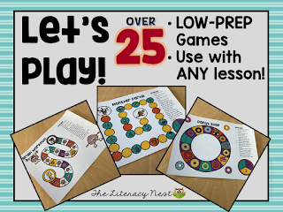 low prep board games
